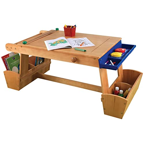 Merveilleux KidKraft Art Table With Drying Rack And Storage