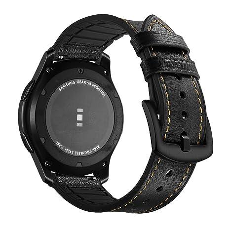 Correa Samsung Gear S3 Frontier Cuero, Aottom Correas Reloj Samsung Gear S3 Classic, Correa
