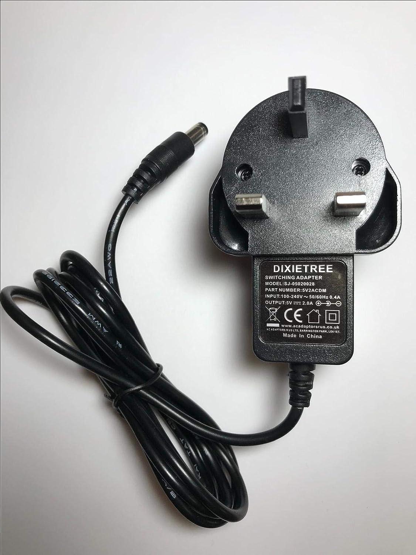 5V AC-DC Adaptor Power Supply for View Quest Retro dab RETRODAB Radio Dock