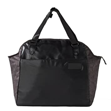 1c27724524e adidas Women Bags My Fav Tote MV  NS  Tote Bag - Black Dark Grey Heather  Solid  Amazon.co.uk  Sports   Outdoors