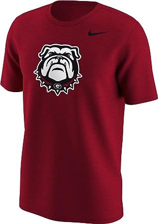 Nike Georgia Bulldogs Rojo Alt el Logotipo Camiseta de fútbol