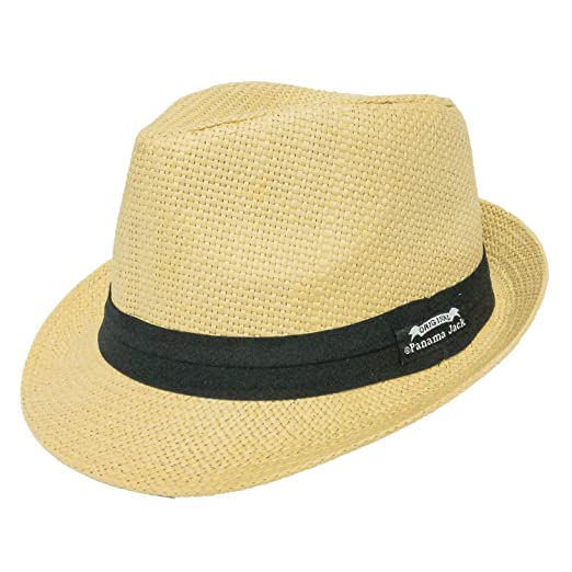 b2e75cb7 Panama Jack Men's Matte Toyo Fedora at Amazon Men's Clothing store: