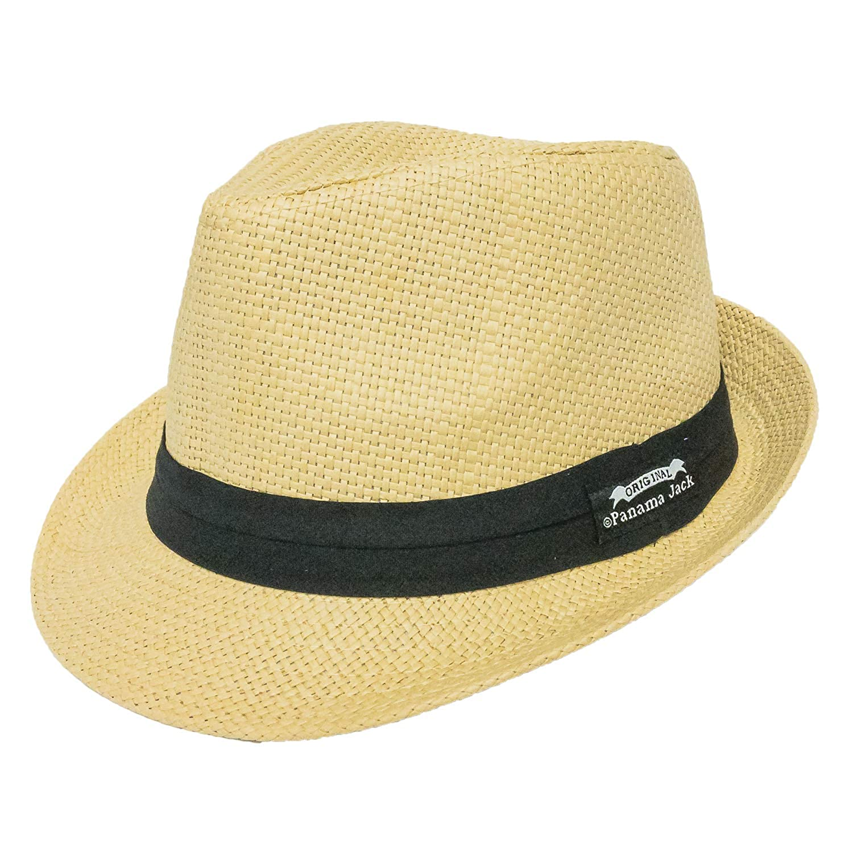 Panama Jack Men s Matte Toyo Fedora 63a8abf6118