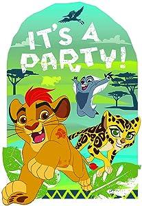 amscan Disney The Lion Guard Postcard Invitations, Party Favor, 8 Ct.