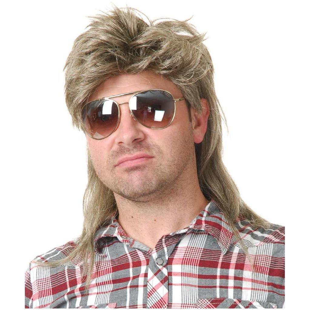 Blonde Mullet Wig Joe Dirt