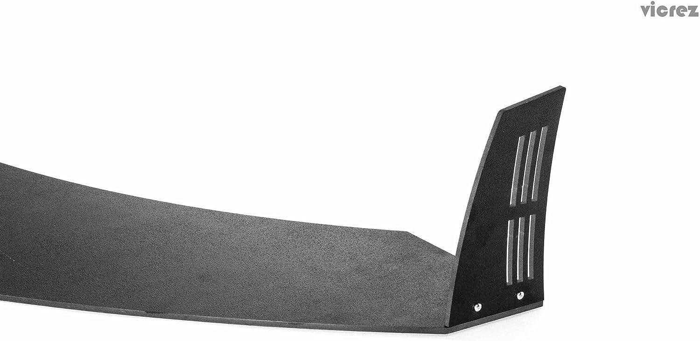 Vicrez Vulcano Pro Series Front Bumper Splitter Winglets vz100681