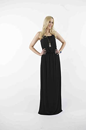 TallWater Jeans Women's Extra Long Karlie Maxi Dress at Amazon ...