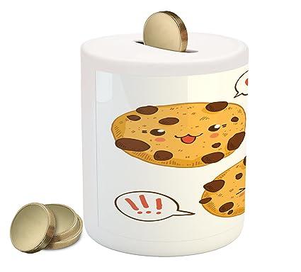 Amazon.com: lunarable Kawaii Hucha, tres Chocolate Chip ...