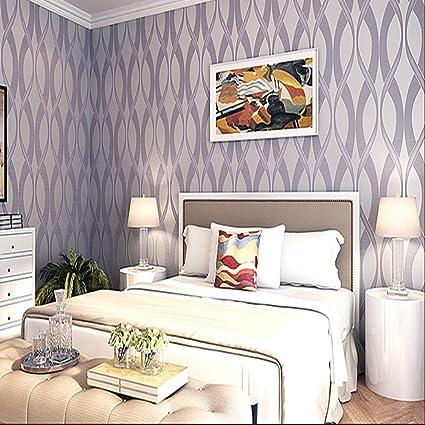 Stuffwholesale Minimalist Style Twist Line Intersect Light Purple New Light Purple Bedrooms Minimalist Decoration