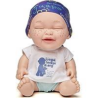 Juegaterapia Muñeco Pañuelo Diseñado por Alejandro Sanz con Estampados Guapas | Juguete Olor a Vainilla | Baby Pelones…