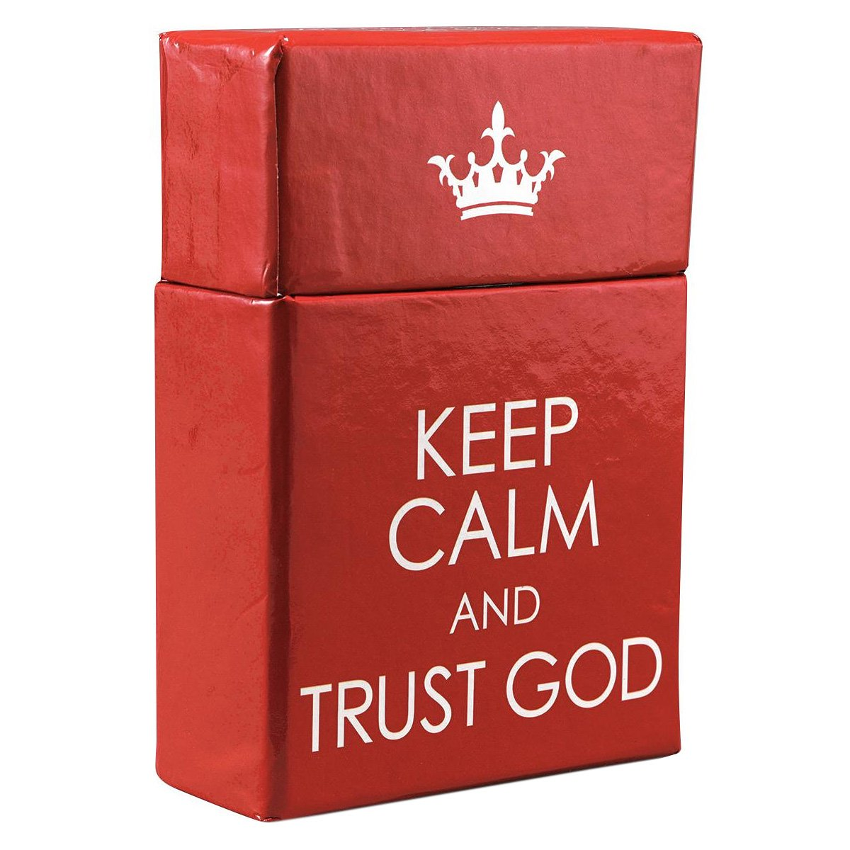 Keep Calm and Trust God Cards - A Box of Blessings: Christian Art ...