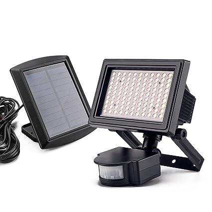 Amazon.com: Luz solar, super brillante LED luz de noche ...
