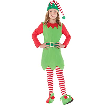 Amscan Merry Elf Costume for Kids: Toys & Games