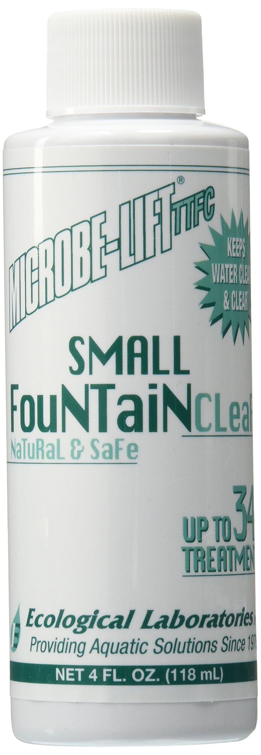 Ecological Labs 10TTFC4 Microbe Lift Small Fountain Clear, 4-Ounce