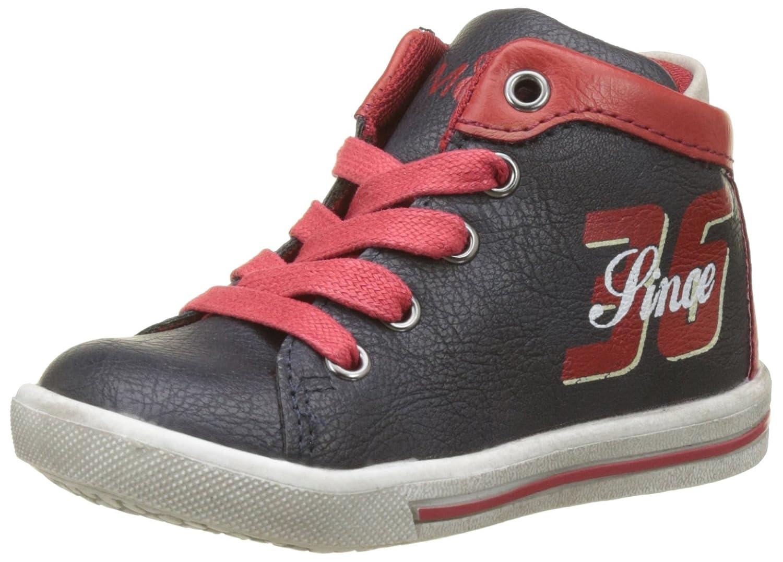 Mod8 Jungen Starcane Hohe Sneaker, Blau (Marine Rouge), 22 EU