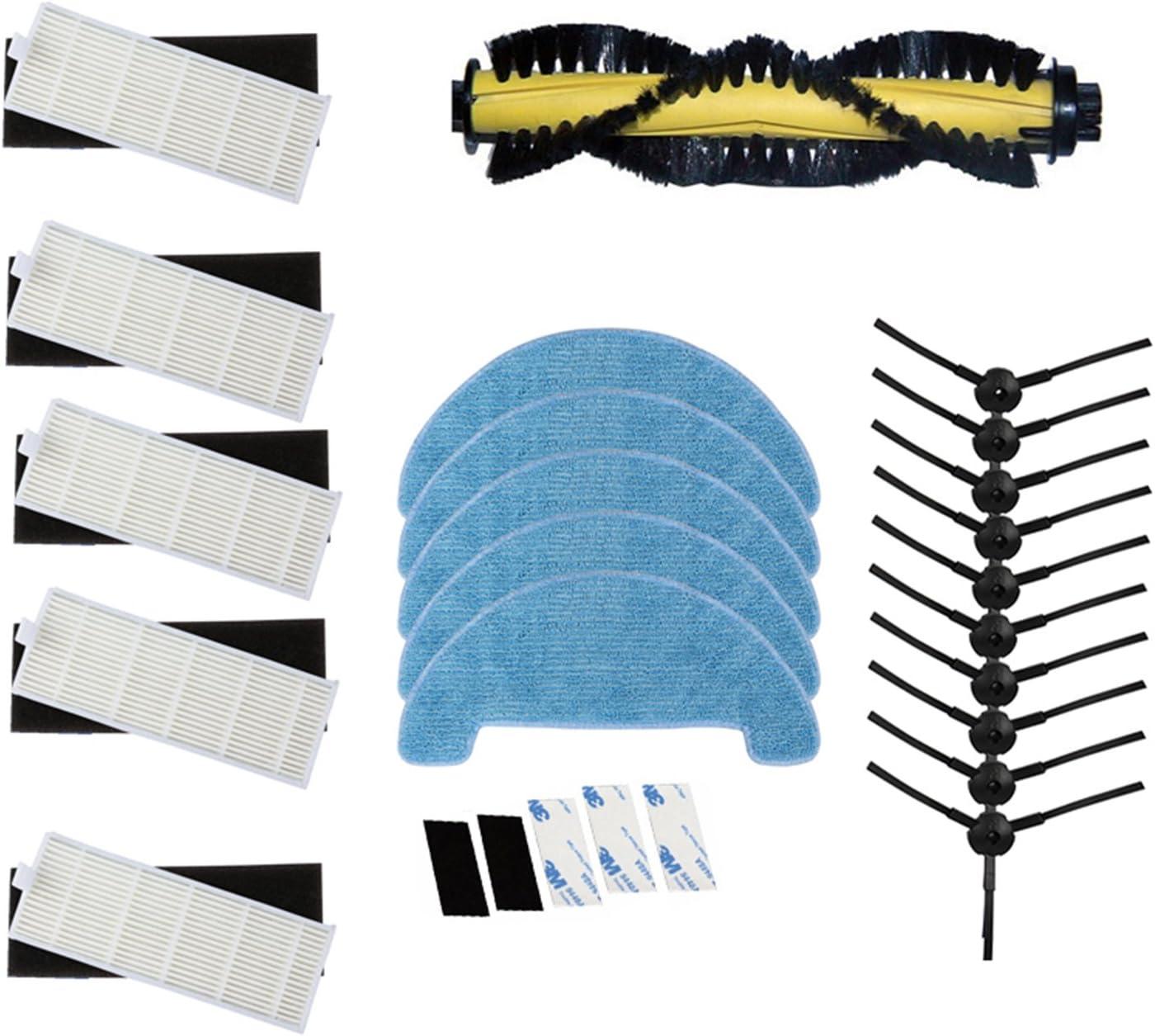 reyee Kits de accesorios de limpieza para iLife A4 Robot ...