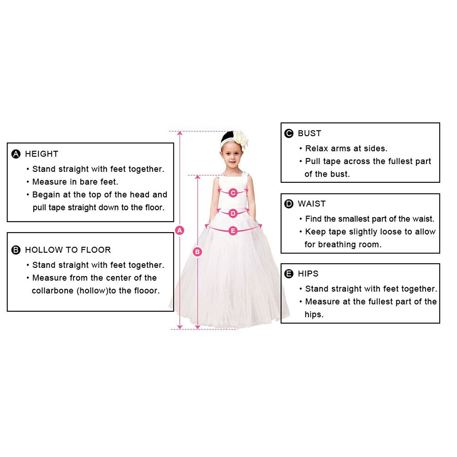 Abaowedding Applique Puff Sleeves Long Flower Girls Evening Prom Party Dresses