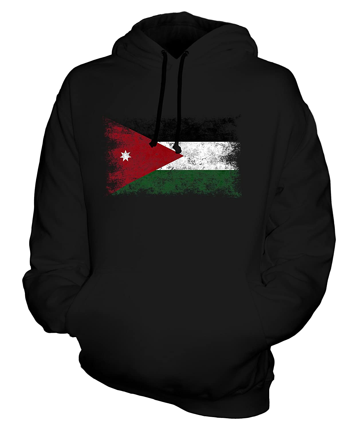 08b8d55d4247d7 CandyMix Unisex Jordan Distressed Flag Mens Womens Hoodie at Amazon Men s  Clothing store