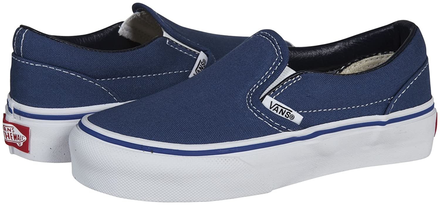 da76da4f4f06f Vans Kids Classic Slip-On Core (Little Big Kid), Navy 4 M