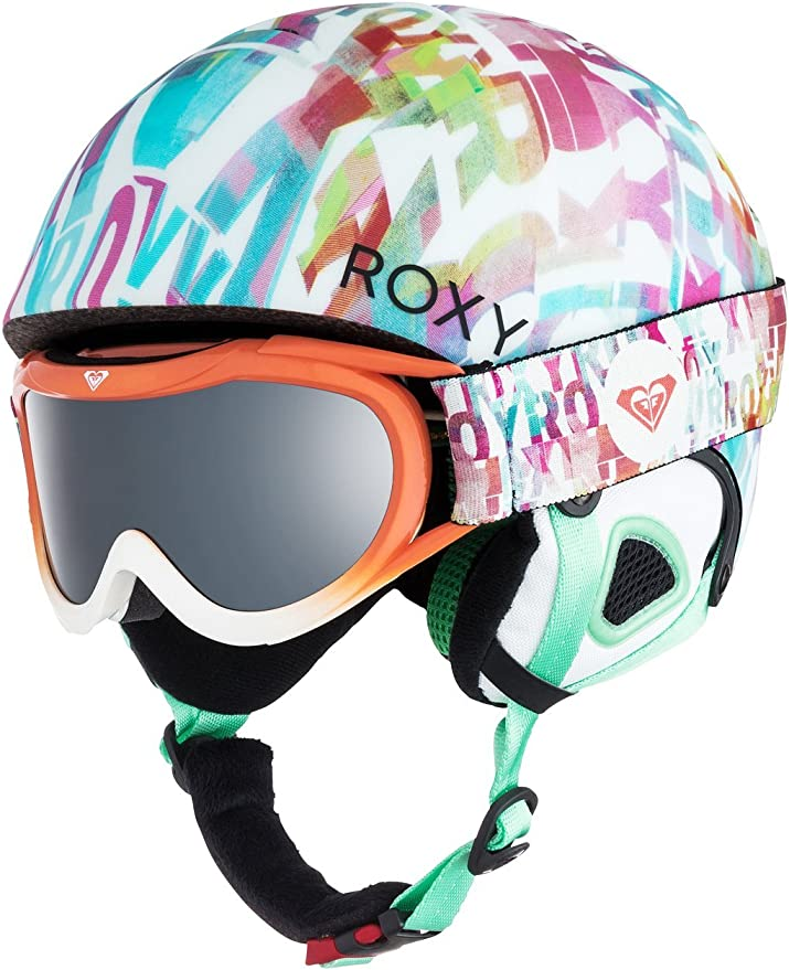Roxy Misty Pack Casco De Snowboard: Amazon.es: Deportes y aire libre