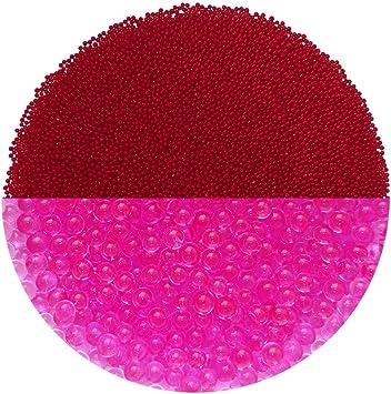 trendfinding Granul/és pour Fleurs artificielles en hydroperles Hydro Perles deau Aquaperle Noir 1-2 mm