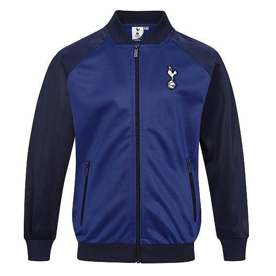 a65e3bb3ff2ae Tottenham Hotspur FC officiel - Veste de survêtement thème football - style  rétro - garçon  Amazon.fr  Vêtements et accessoires