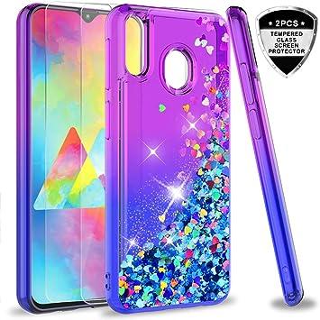 LeYi Compatible con Funda Samsung Galaxy M20 M 20 Silicona ...