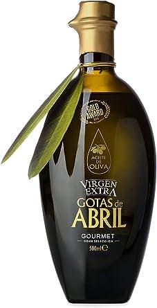 Gotas de Abril Aceite de Oliva Virgen Extra Gourmet 500 ml - Caja de 6 botellas: Amazon.es: Alimentación y bebidas