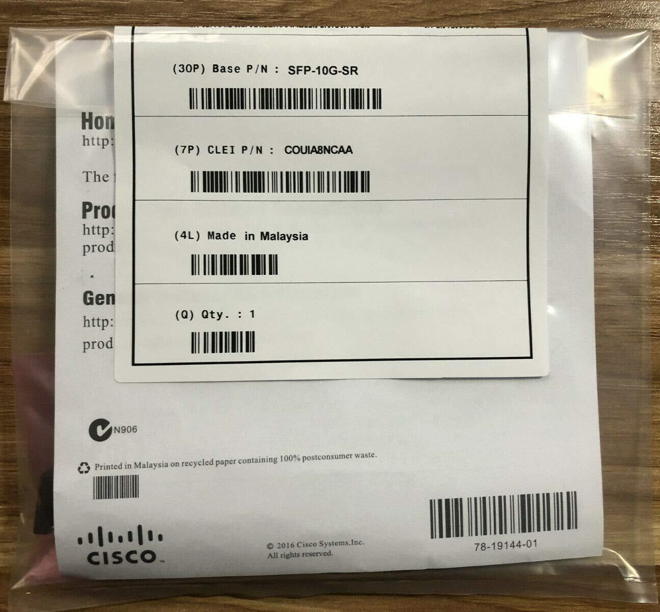 10GBASE-SR SFP Module **Cisco Wholesale**, SFP-10G-SR (**Cisco Wholesale** WS 10GBASE-SR SFP Module) by Cisco