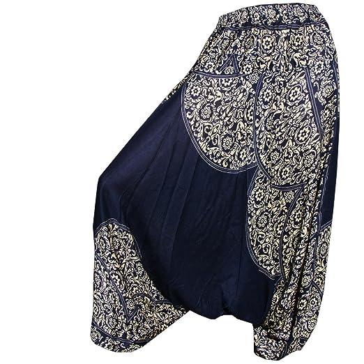 8 opinioni per Panasiam Pantaloni harem, taglia unica M & L, nuovo design, pochi esemplari (da