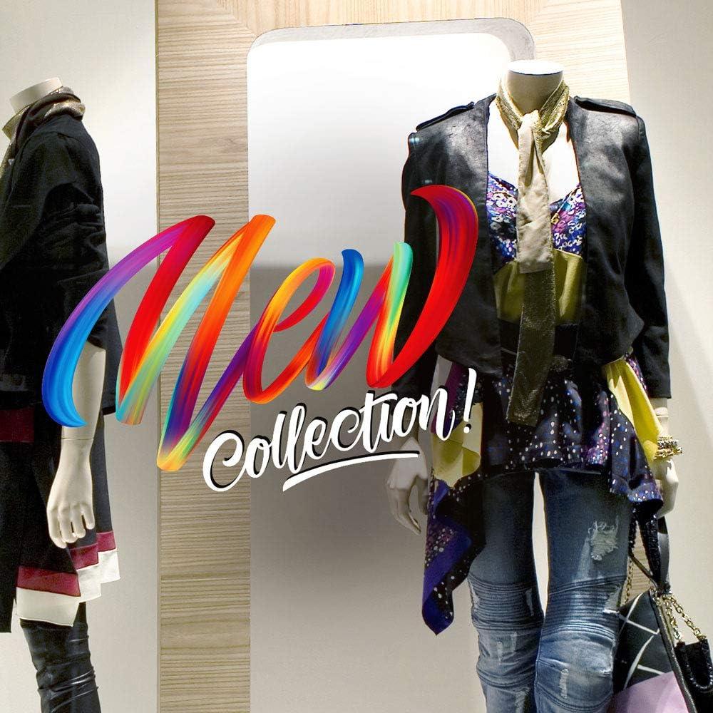 kina CRNC0021 Vitrophanie de Nouvelle Collection dhiver r/éutilisables d/écorations adh/ésives pour vitrines repositionnables et r/éutilisables /à volont/é