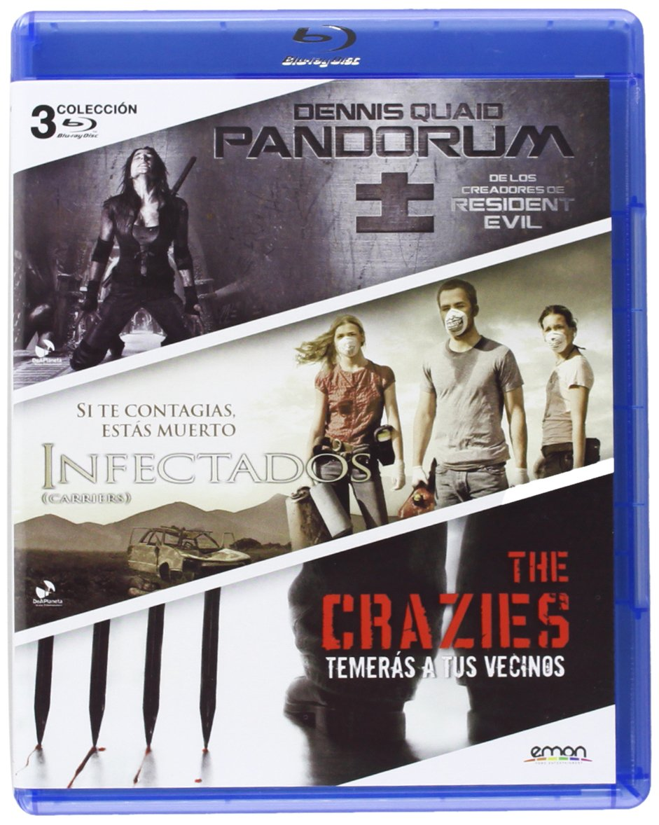 Pack: Pandorum + Infectados + The Crazies [Blu-ray]: Amazon.es ...