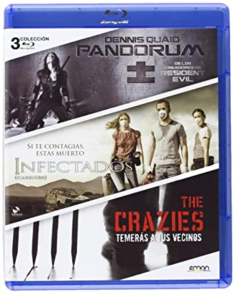 Pack: Pandorum + Infectados + The Crazies [Blu-ray]: Amazon.es ...