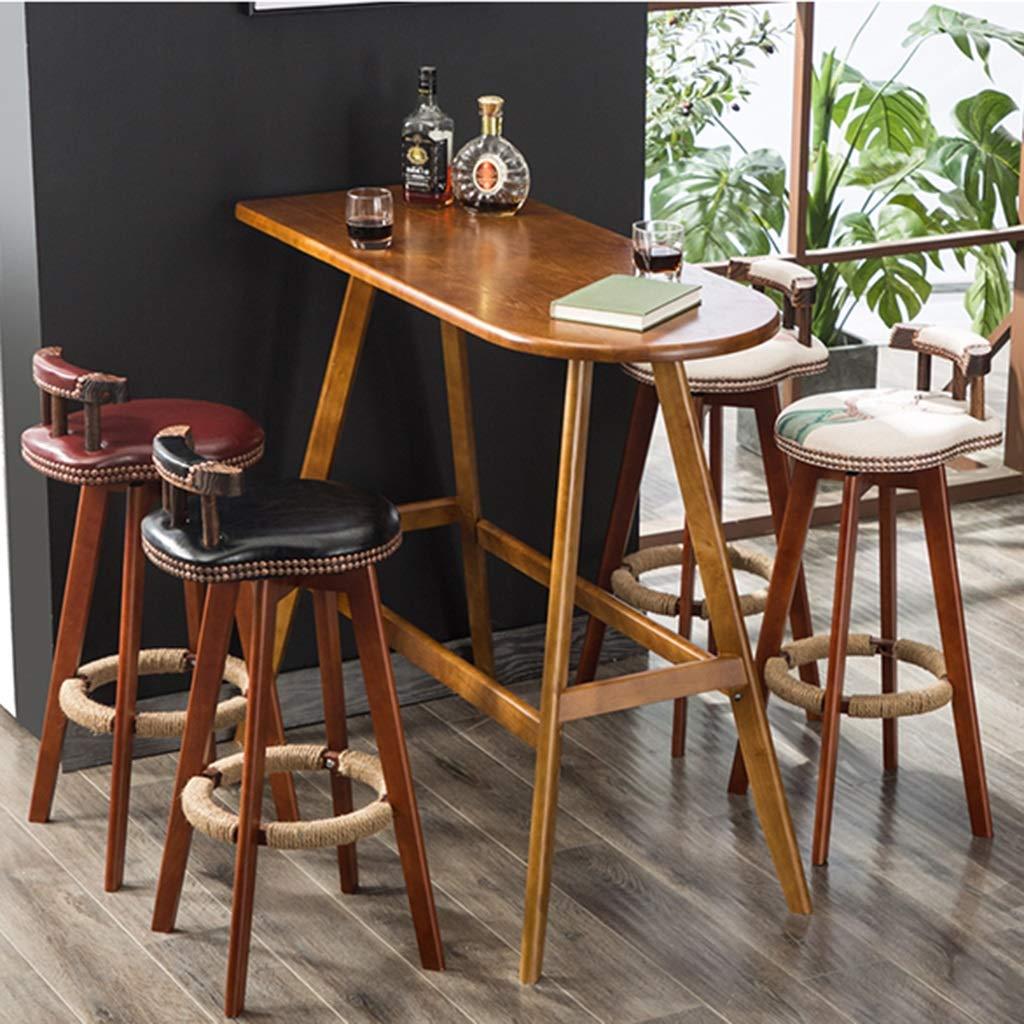 Amazon.com: Silla giratoria para bar de patio, silla de bar ...