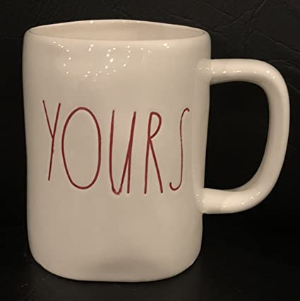 ecd6f80c6b2 Amazon.com: Rae Dunn Artisan Collection By Magenta Mug YOURS-Red ...