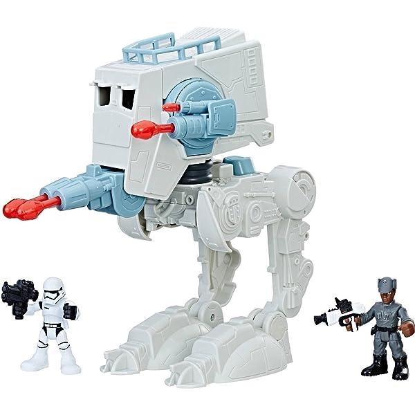 Star Wars B2035 Galactic Heroes SCOUT TROOPER SPEEDER BIKE Child Toy Gift Boys