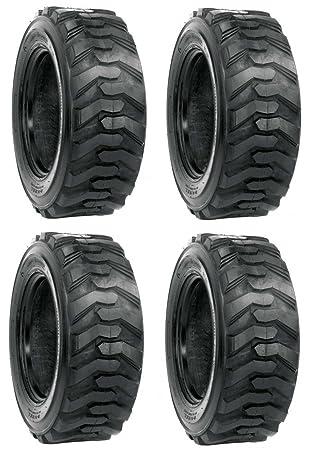 Amazon Com 4 New 10x16 5 Skid Steer Tires 10 Ply Bobcat Case John