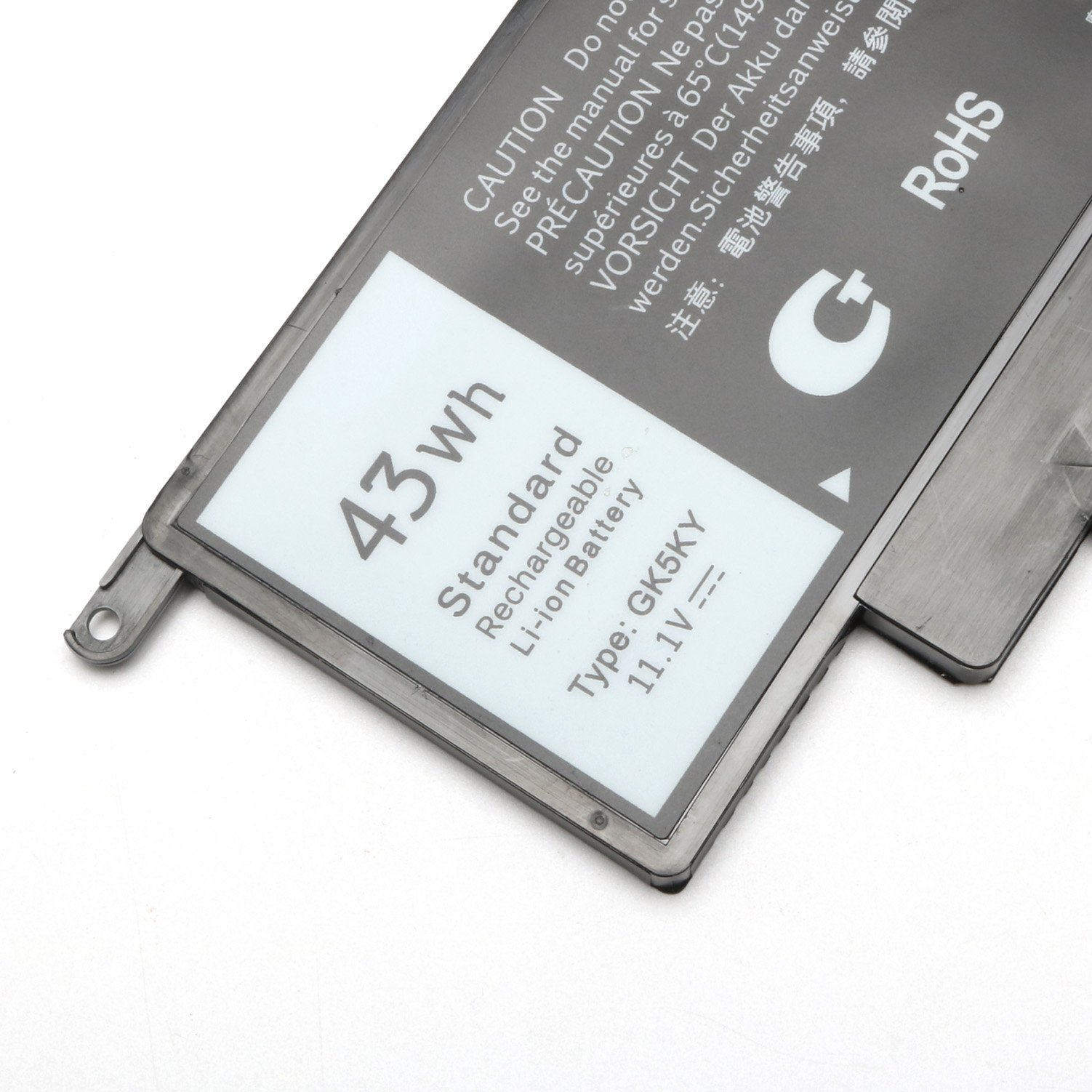 GK5KY New Laptop Battery for Dell Inspiron 11 3000 3147 3148 3152 13 7000 7353 7352 7347 7348 7359 7558 7568, Compatible P/N 04K8YH 92NCT 092NCT 4K8YH P20T Notebook PC by BULL-TECH (Image #3)