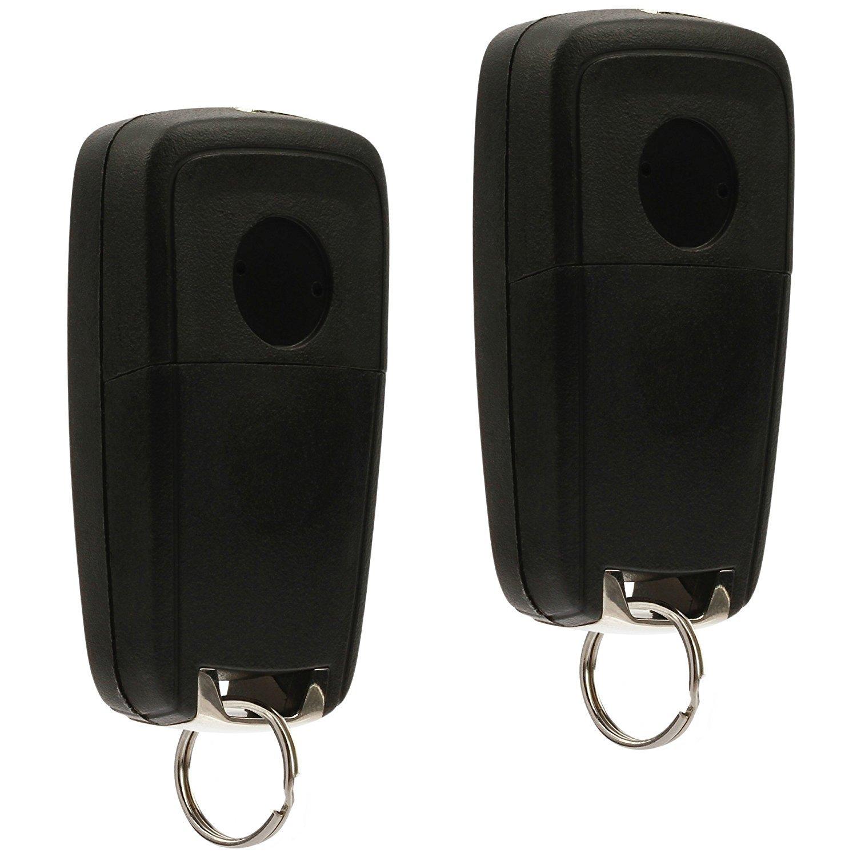 Terrain Set of 2 Car Key Fob Keyless Entry Remote Flip fits 2010-2017 Chevy Equinox OHT01060512 3-btn Sonic