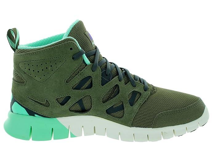 Nike Herren Free Run 2 Sneakerboot MDM OLVGysr GryDrk LDN