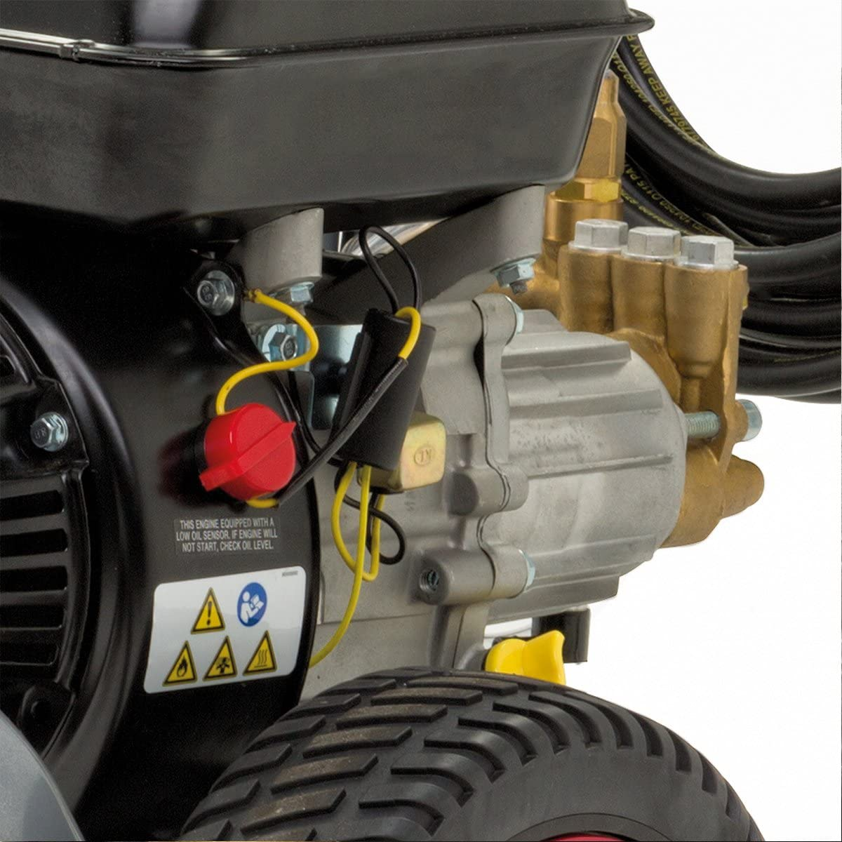 Briggs and Stratton 020377 BPW2000 Hidrolimpiadora de Alta presi/ón de Gasolina 2000 PSI//138 bares-500 Series OHV 158 CC Motor