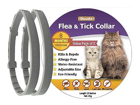 Amazon.com: Duuda - Collar antipulgas y garrapatas para ...