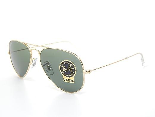 ec33b5e46 ... cheap ray ban aviator rb3025 w3234 gold green classic g 15 55mm  sunglasses 02247 c1312
