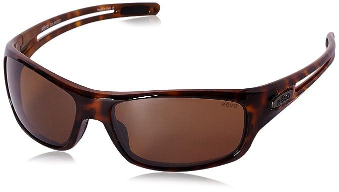 18e4282fcf Amazon.com  Revo Sunglasses Revo Guide S Polarized Sunglasses Wrap ...
