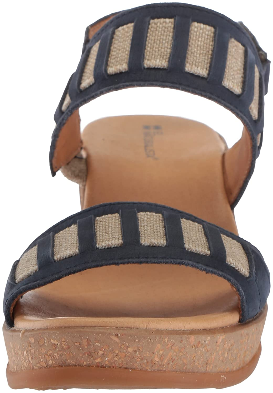 El Naturalista Women's N5006 Pleasant Ocean/Leaves Wedge Sandal (11 B075LMR5P7 42 Medium EU (11 Sandal US)|Ocean 40599c