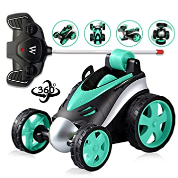 Cars For 10 Year Olds >> Gift For 3 12 Years Old Boys Remote Control Car Radio Control Car Stunt Car Toy For Kids 3 12 Years Old Toy For 3 12 Years Old Children Fdc Blue