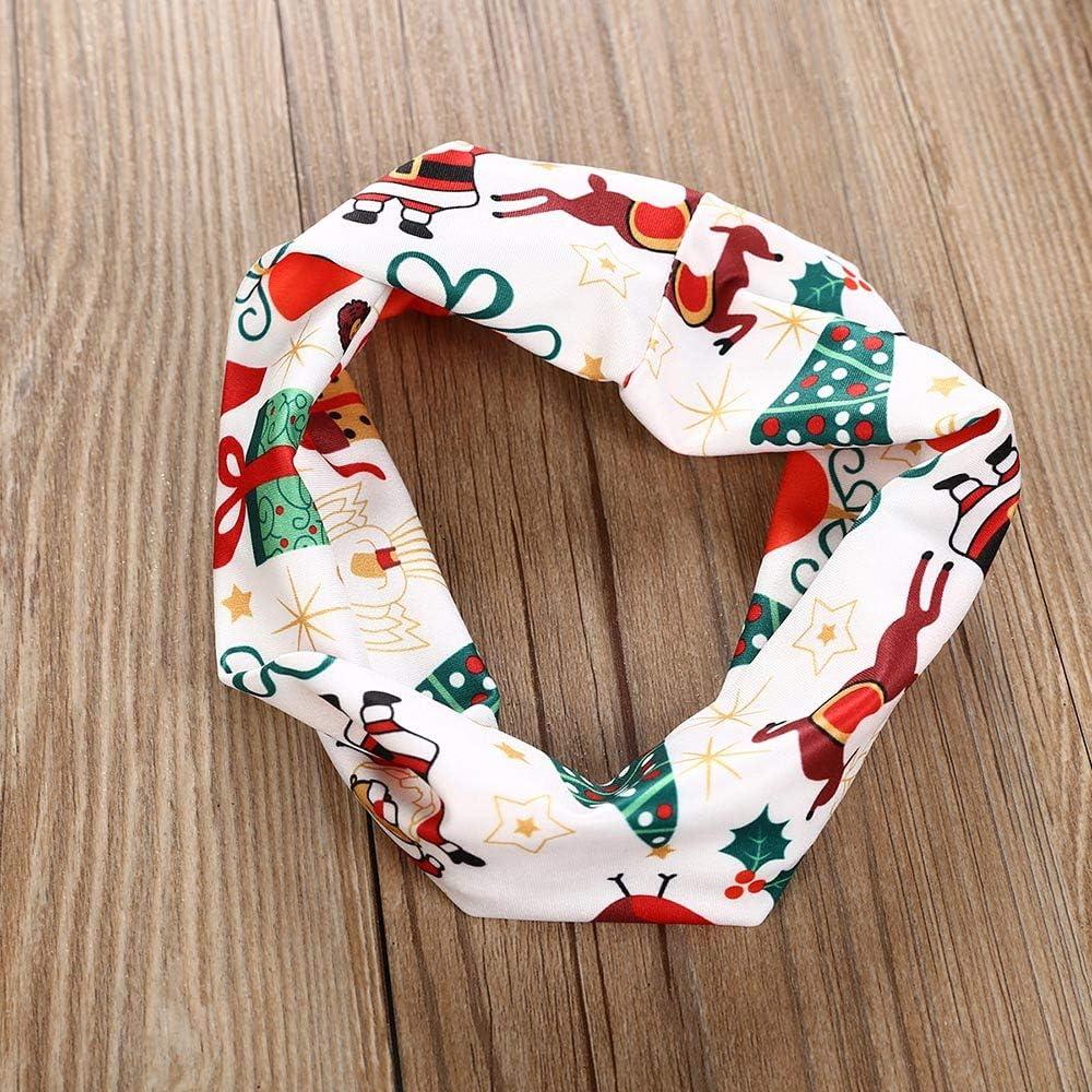 Hose Ansenesna Weihnachten Kost/üm Baby Kinder M/ädchen Baumwolle Elegant Weihnachts Kleidung Kleid Stirnband