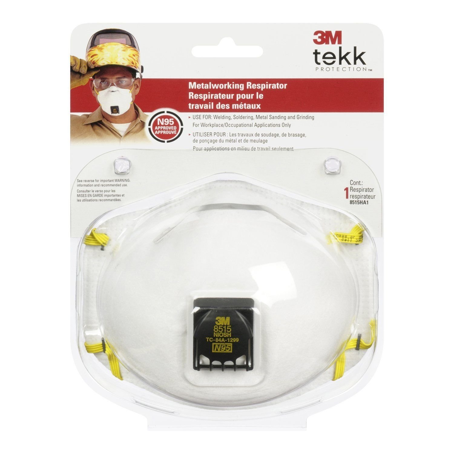 3M 07189 Particulate Welding Respirator 8515/07189 AAD- N95 7189 NEW - 10 PACK