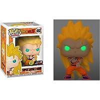 Funko Pop! Dragonball Z Super Saiyan 3 Goku Glow in The Dark GITD Exclusive Variant