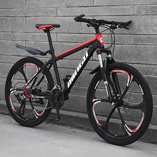 AP.DISHU Bicicleta de montaña de Velocidad Variable 21/24/27/30 ...